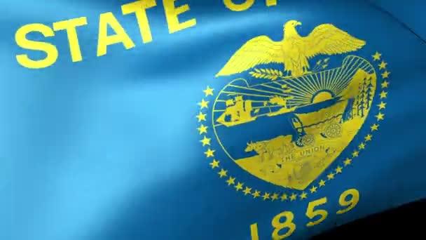 Mávání vlajkami Oregon