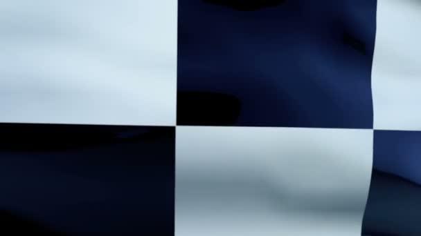 Bandiera a scacchi texture ondeggiante