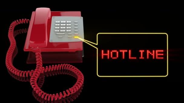 Nouzové telefonní linku textem