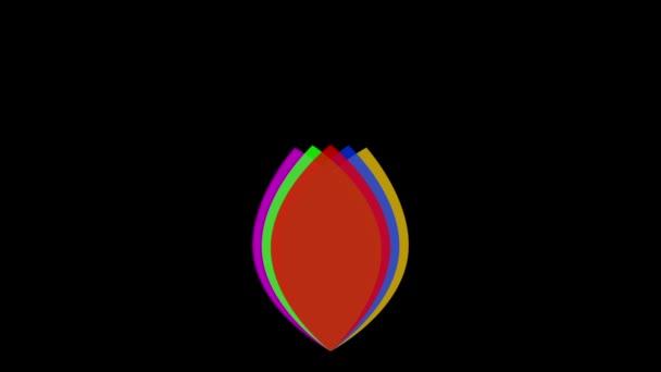 Logo di RGB in movimento