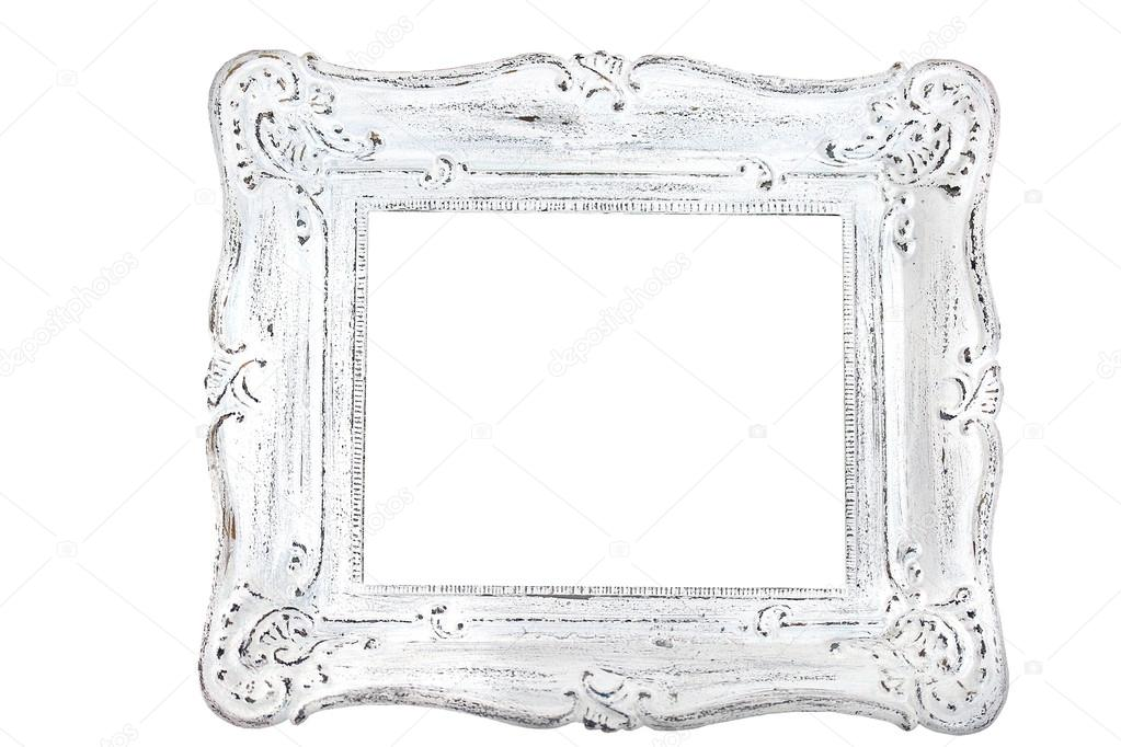 Shabby chic vintage picture frame — Stock Photo © new_vintage #101423594