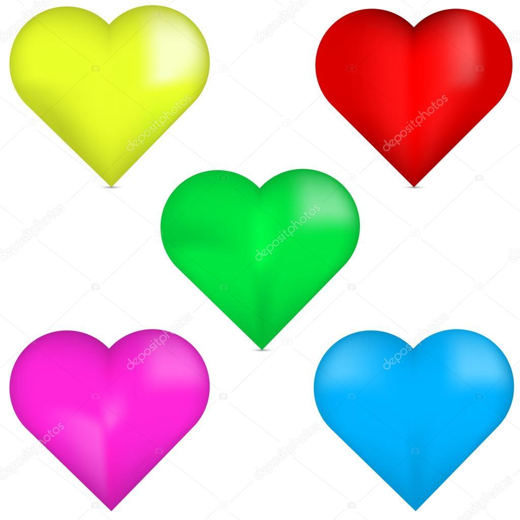 d2f81706340c 3D červené srdce