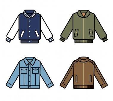 set of mens jackets