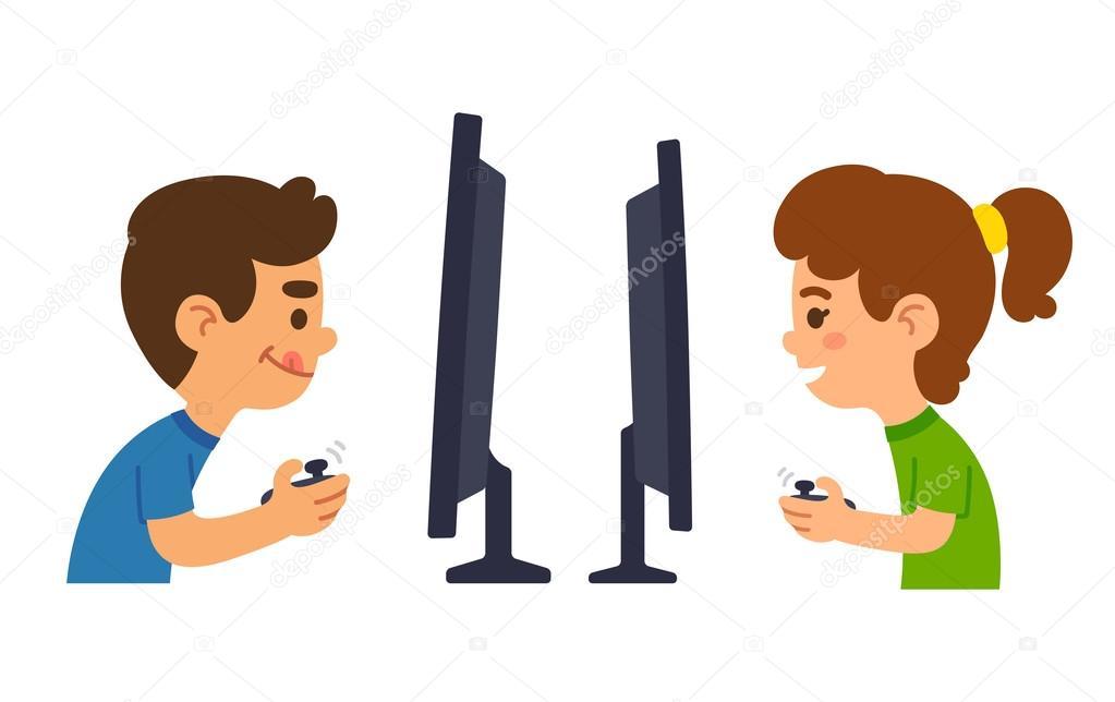 Imagenes Ninos Jugando Videojuegos Animados Ninos Jugando Juegos