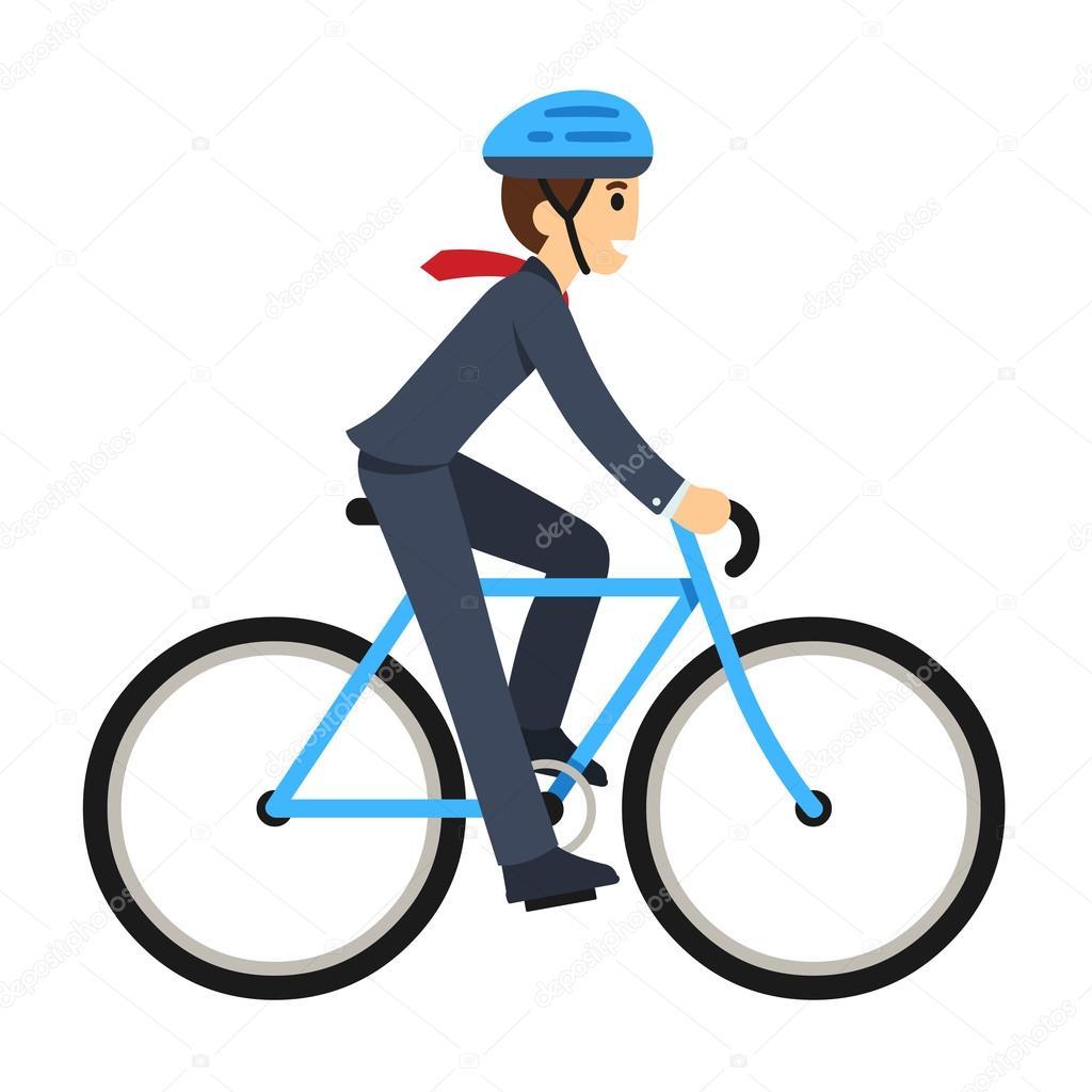 empresário andando de bicicleta vetores de stock sudowoodo