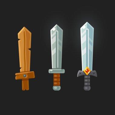 Game swords set