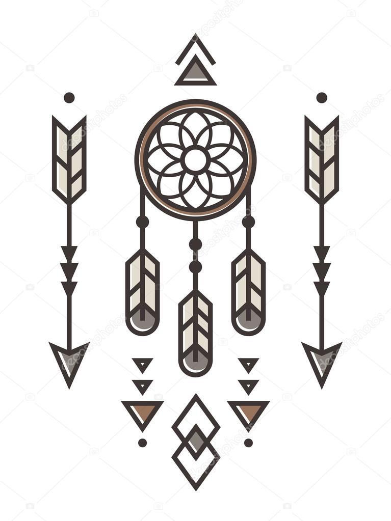 Native American Ornament Stock Vector Sudowoodo 91277526