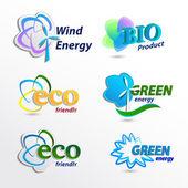 Nastavení Eco loga, prvek šablony návrhu