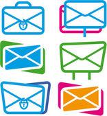 sada ikon na e-mailu