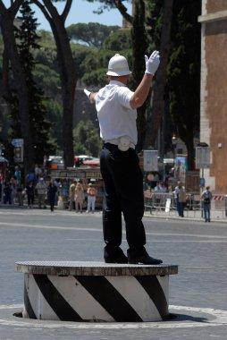 Policeman in Rome