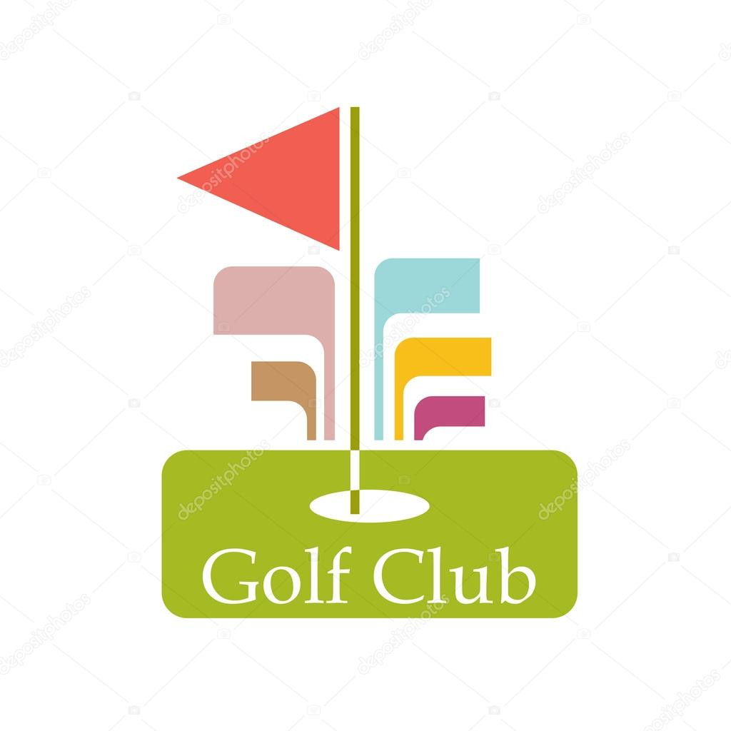 Vector sign abstract Golf Club