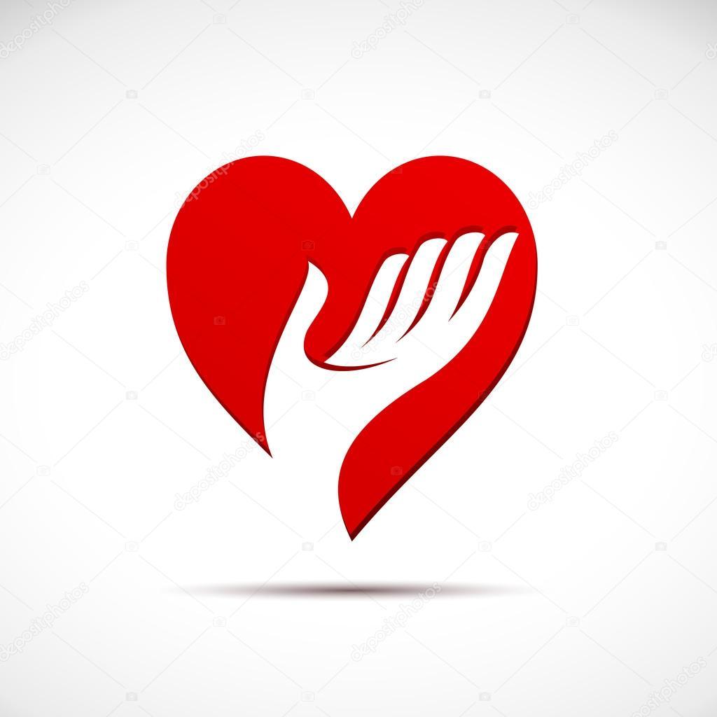 Vector sign help my heart clipart vector