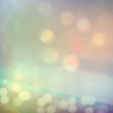Lights, highlights, effect blurred background.