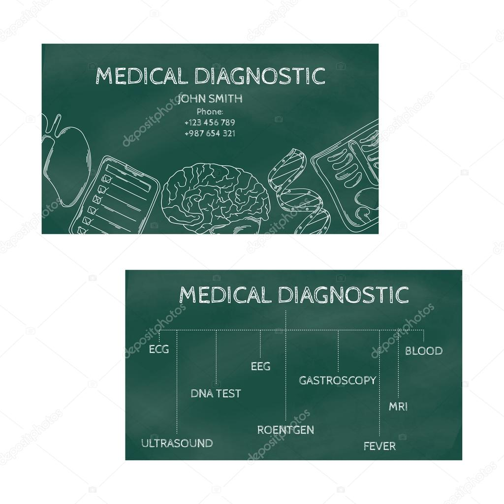 Template professional business cards for printing in the printing template professional business cards for printing in the printing industry isolated on white background medical reheart Image collections
