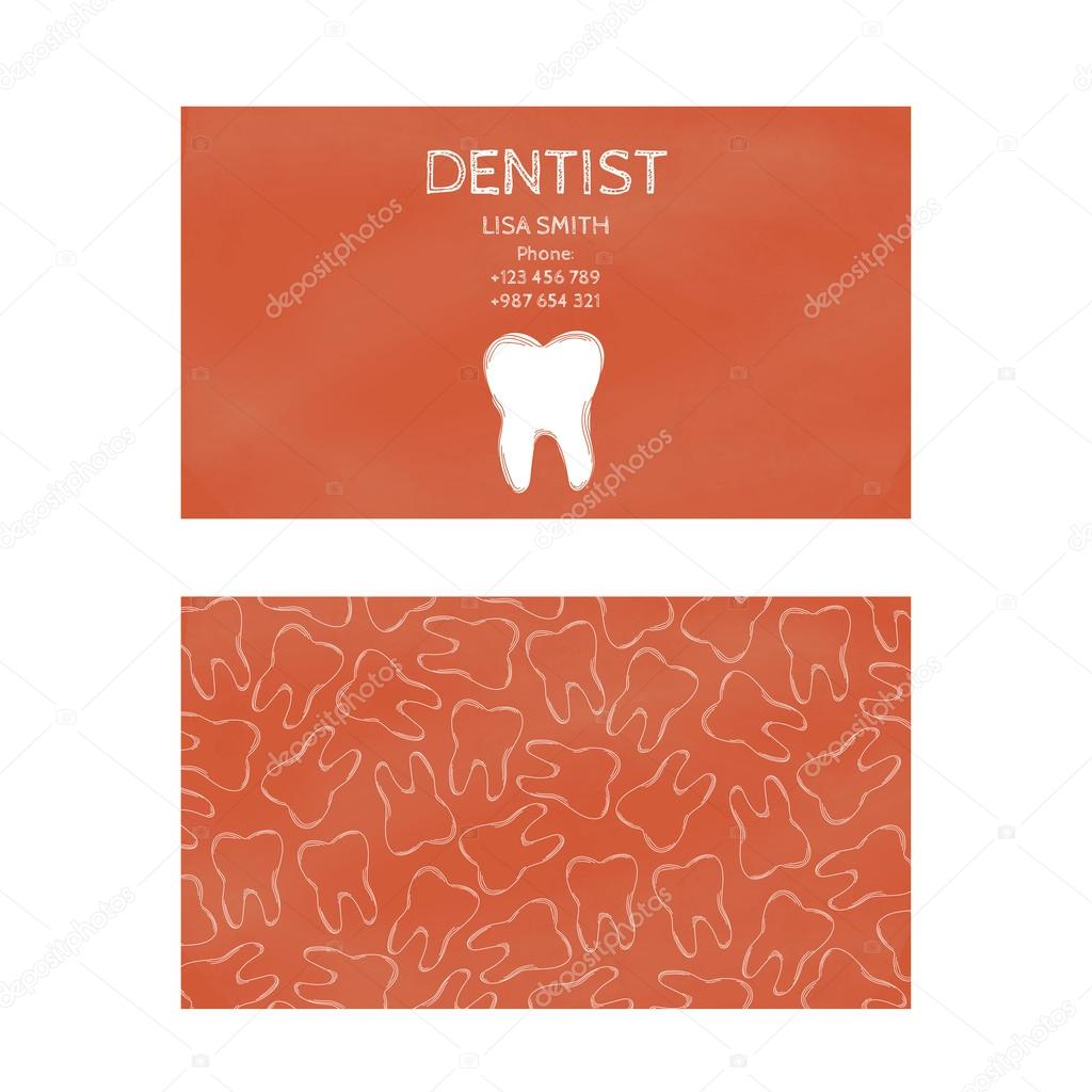 Template professional business cards for printing in the printing template professional business cards for printing in the printing industry isolated on white background family doctor dentistry prevention and dental reheart Gallery