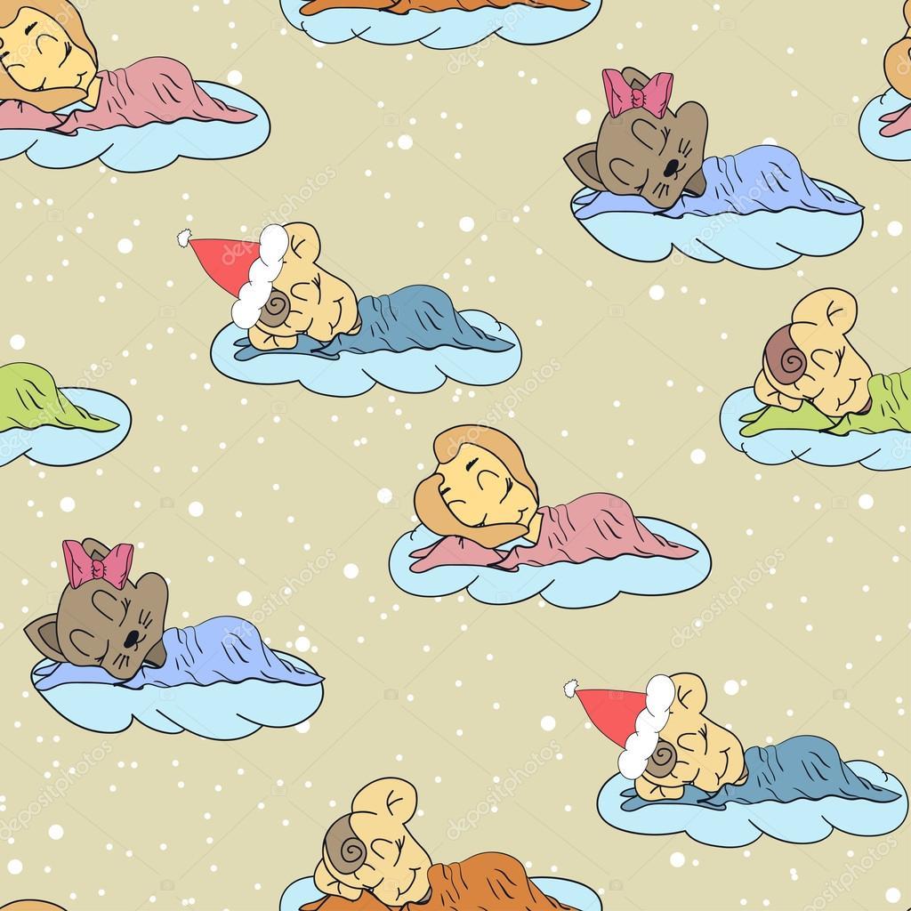 Výsledek obrázku pro spící miminko kresba