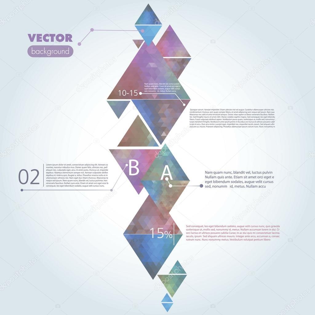 abstrakte Vektor Vorlage — Stockvektor © margarita.senkova@yahoo.com ...