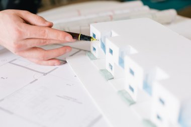 Architectural design and project blueprints drawings-Filtered Im