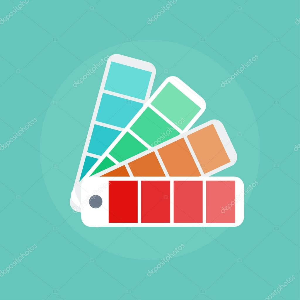 Color swatch illustration