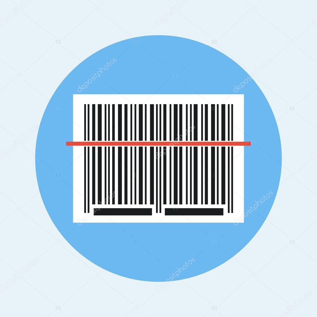 barcode scanning icon � stock vector 169 axsimen 90827184