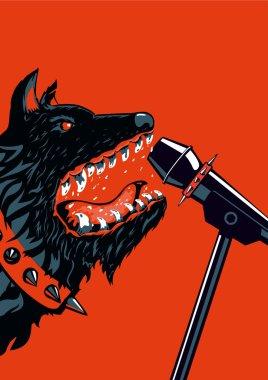 Dog Rock Poster