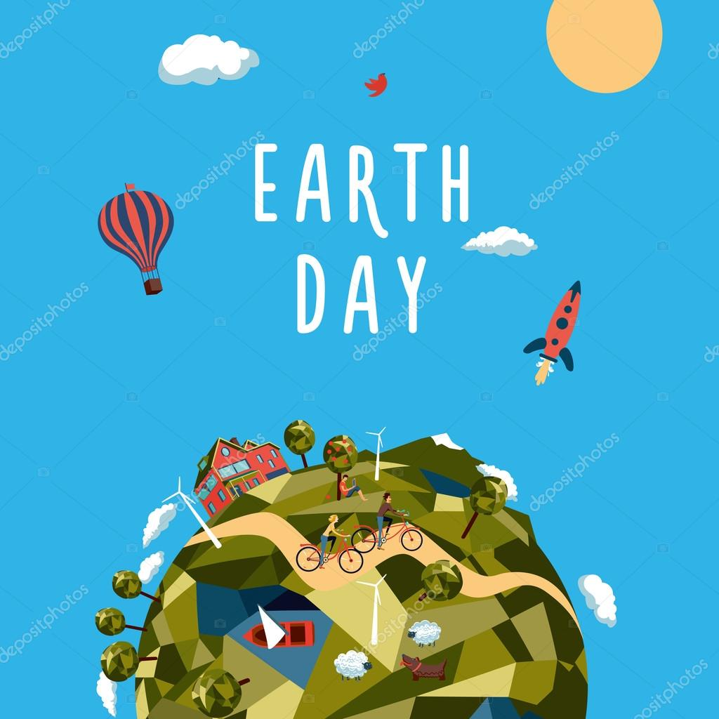 Earth day.  Environment and ecology concept.