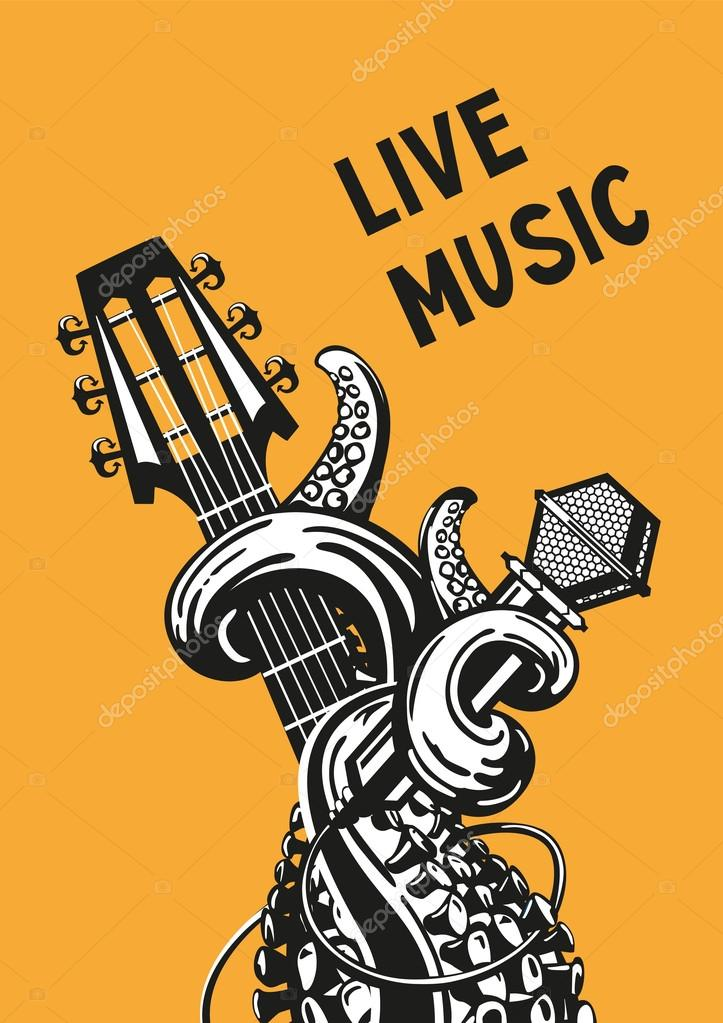 live music poster