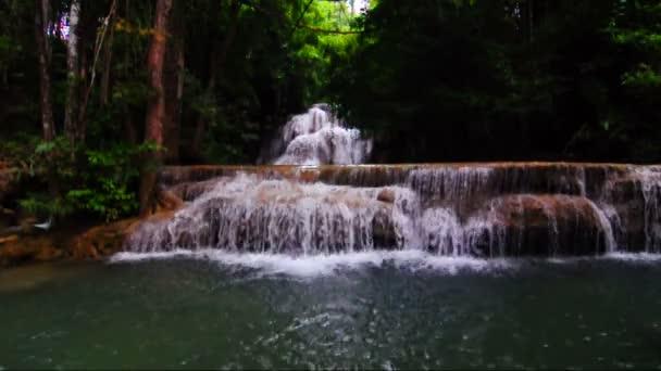 Huay Mae Kamin vodopád národní Park, Kanchanaburi