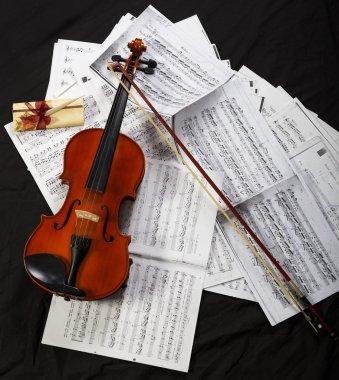 Classic music instrument