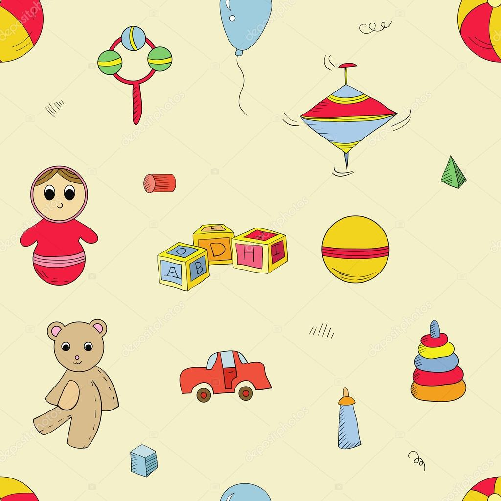 Color toys pattern