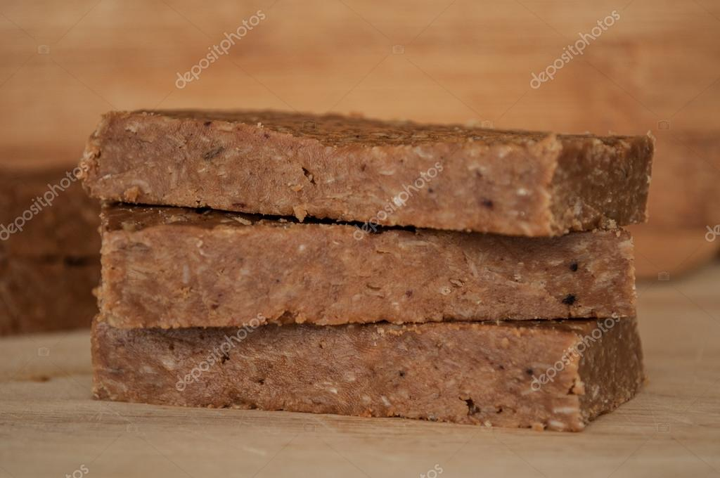 Handmade energy bars
