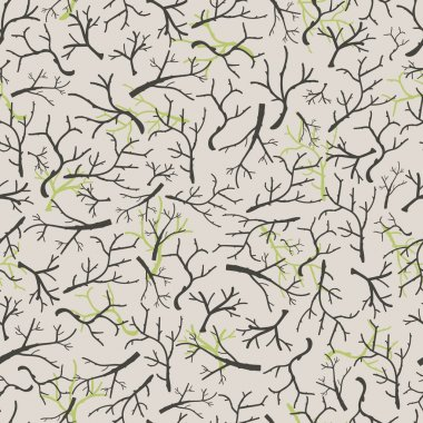 Dry branches pattern