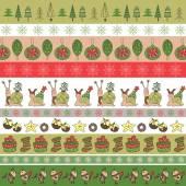 Fotografie weihnachtskarte-vorlage