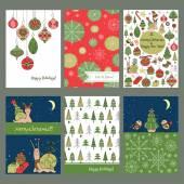Vorlage für Weihnachtskarten