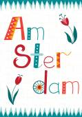 Fotografie Amsterdam card template