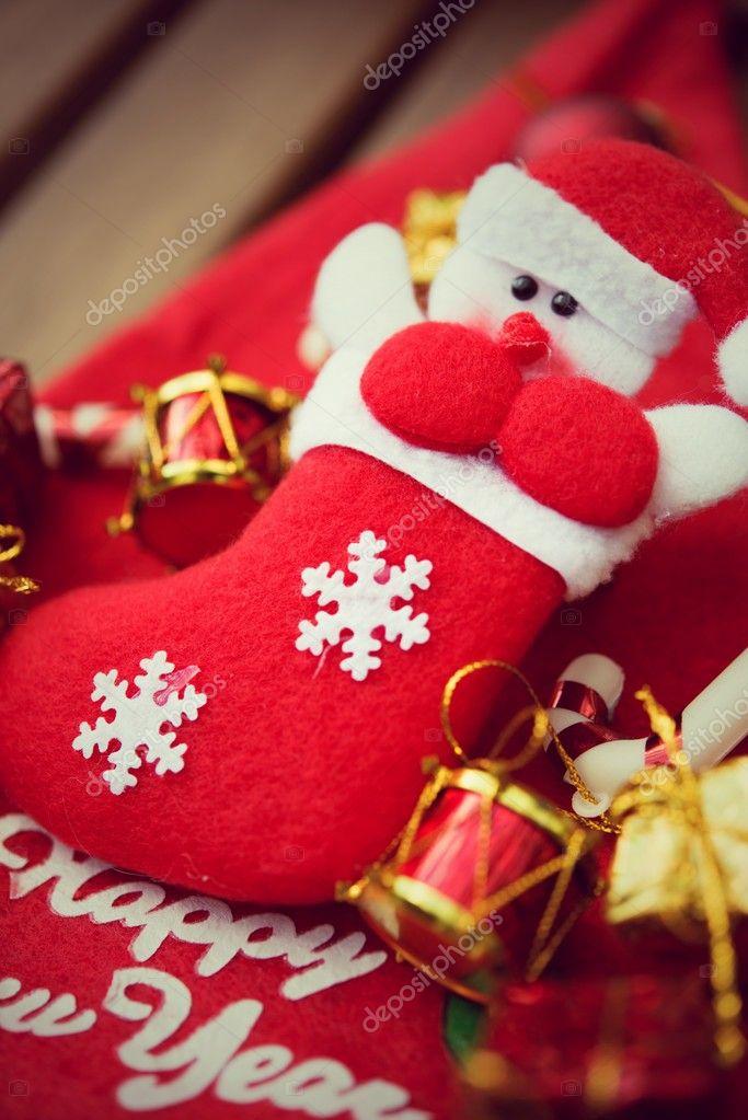 Como Decorar Calcetines Para Navidad.Calcetines De La Navidad Decoran Arboles De Navidad Y Otras