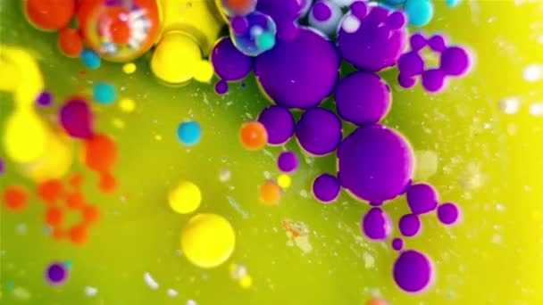 Ink Bubbles In Water