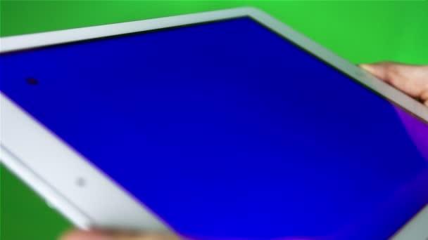 Tábla-Pc használata a kék képernyő