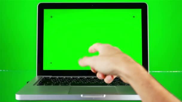 Használ Laptop-val Green Screen
