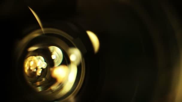Lens Flare in movimento