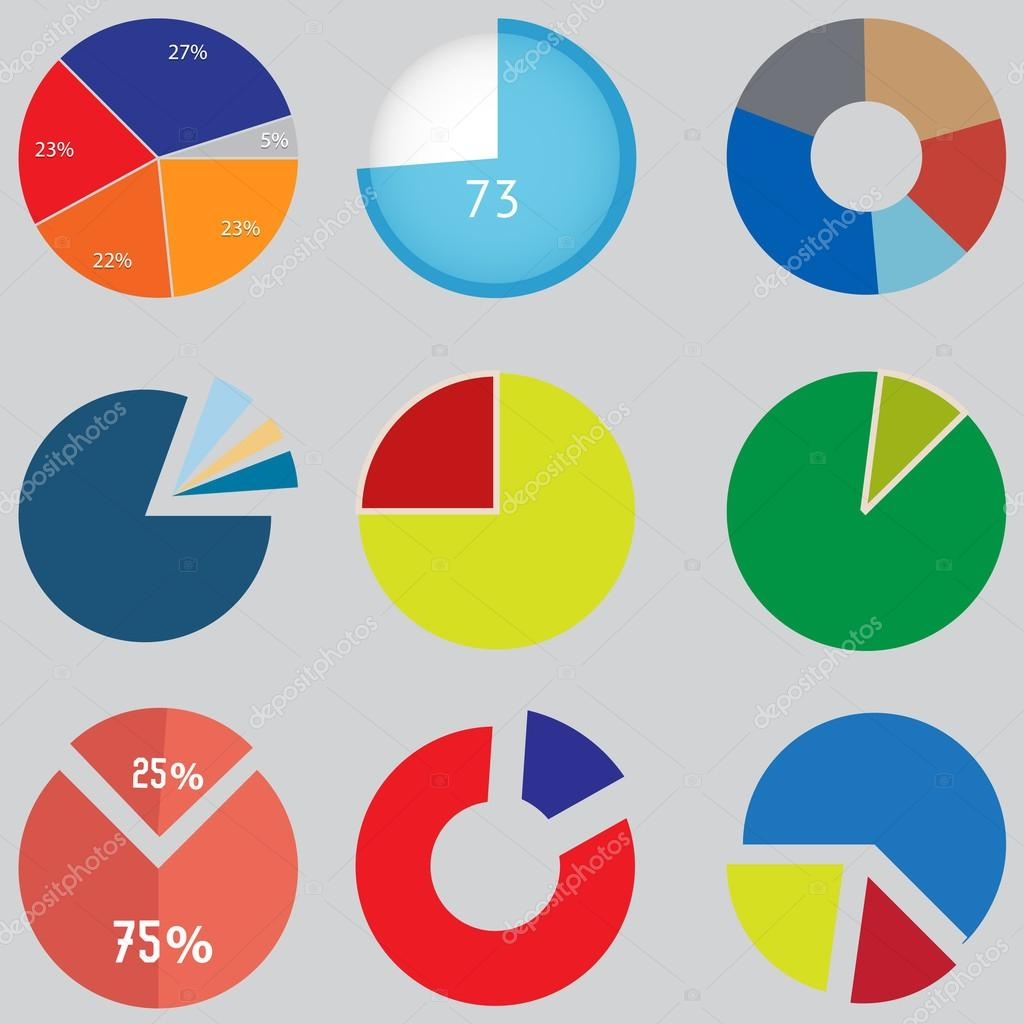Infographic elements pie chart set icon business elements and infographic elements pie chart set icon business elements and statistics stock vector geenschuldenfo Choice Image