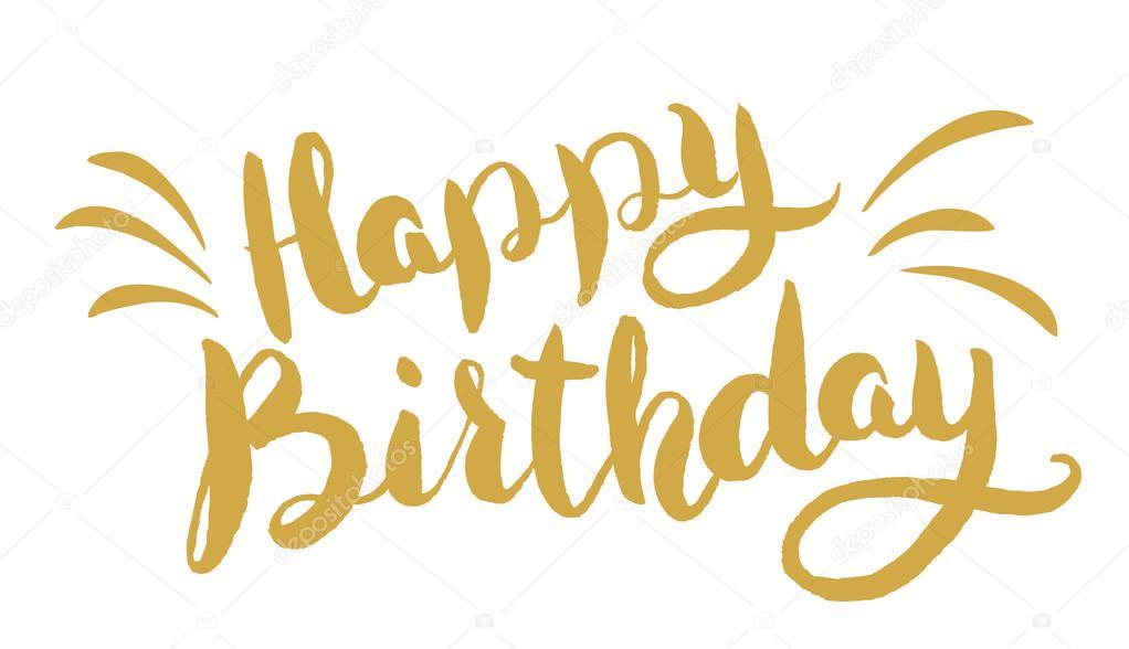 Imágenes: Letras Dibujadas De Feliz Cumpleaños
