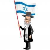 ortodox zsidó, hassid zászló