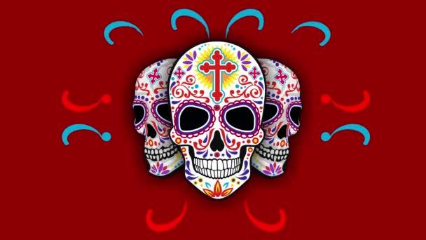 Heiliger Tod, Tag der Toten, mexikanischer Zuckerschädel