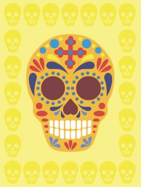 Holy Death_ Sugar Skull_flat