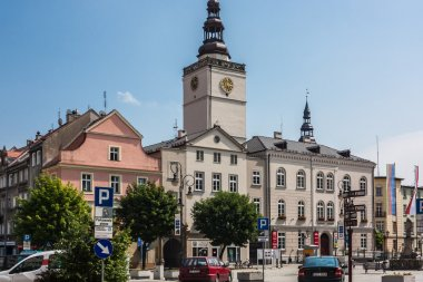 Dzierzoniow - a city in southwestern Poland
