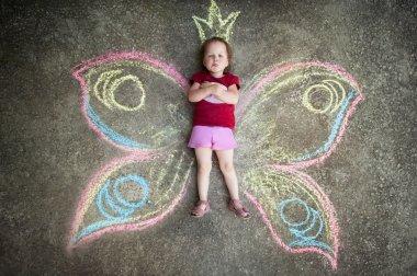 Little girl Butterfly, CAPRICE