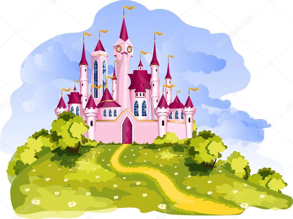 Magic princess castle.