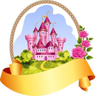 Princess castle frame.