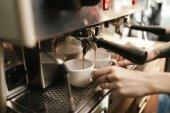 Barista előkészítéséért kávéfőző